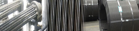 Carbon Steel Wire Strands with Low Relaxation, USA Standard Strands