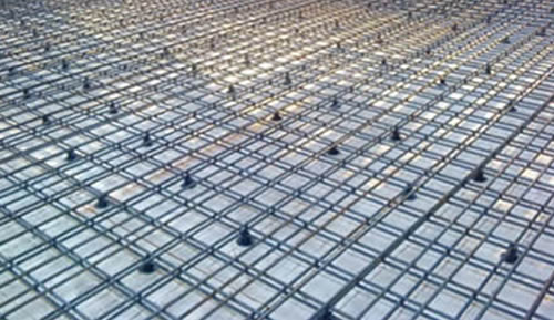 Ribbed Steel Bar Welded Mesh Panels For Slab And Wall